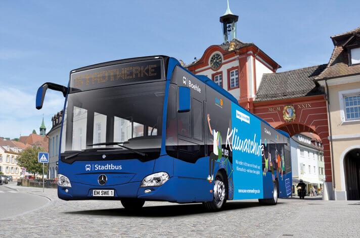 """Steigen Sie ein!"""" – Mobilität von früh bis spät mit dem Stadtbus"""