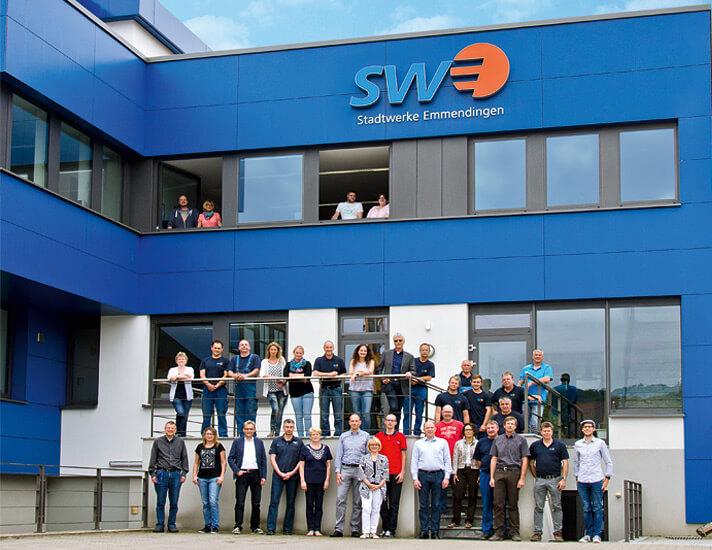 Das Team der Stadtwerke Emmendingen GmbH