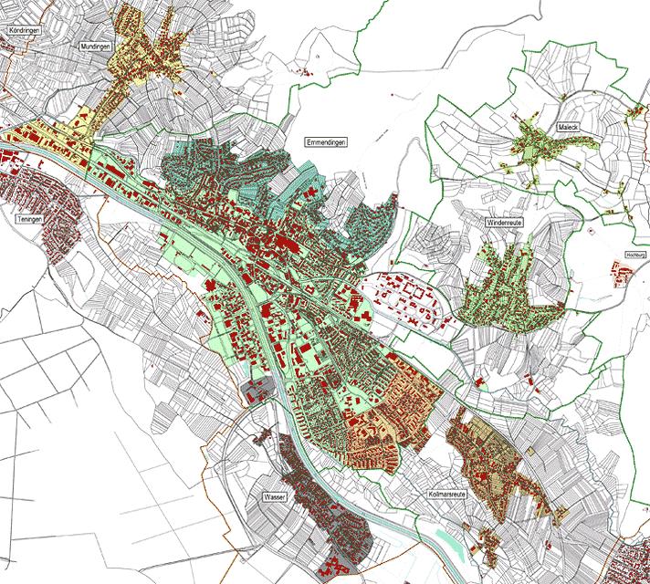 Trinkwasserversorgungszonen Emmendingen