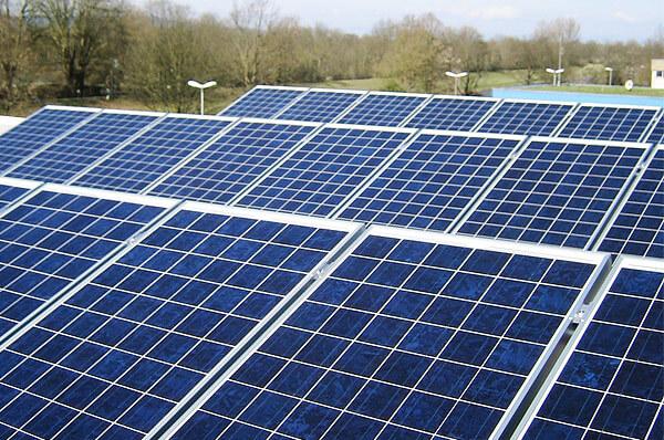 Foto von Photovoltaik Panelen