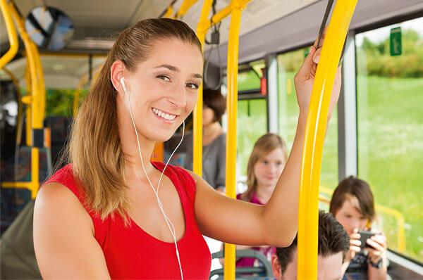 """""""Steigen Sie ein!"""" – Mobilität von früh bis spät mit dem Stadtbus"""