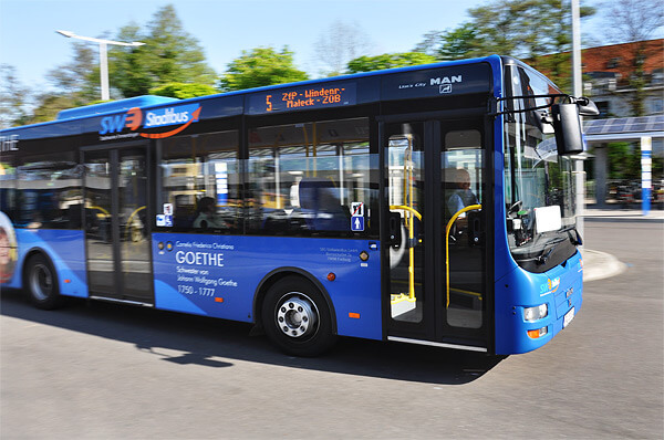 Vier Jahre Stadtbus Emmendingen