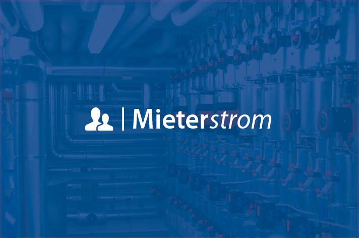 Schriftzug: Mieterstrom-Modell