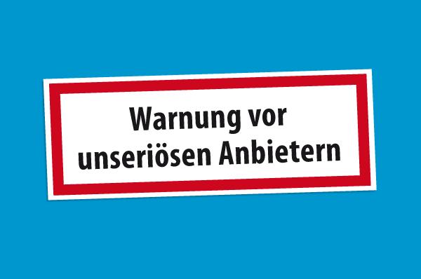 Warnung vor Vertragsabschluss an der Haustür