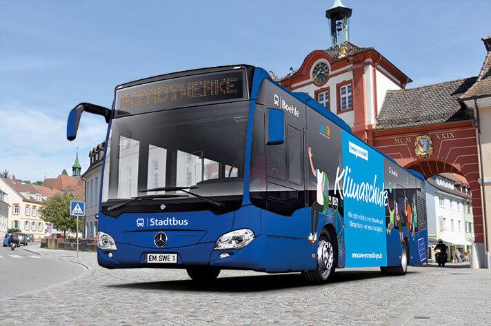 Stadtwerke laden zur Vorstellung der neuen Stadtbus-Flotte