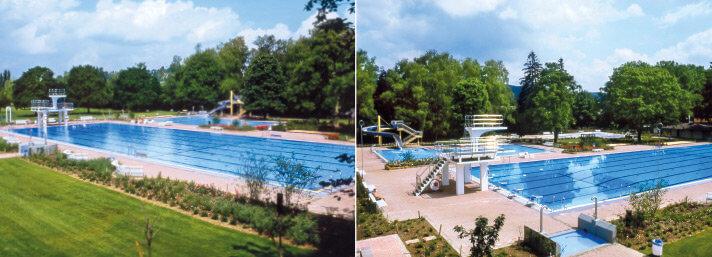 ... und nach dem ersten Umbau im Jahr 1985. Historische Fotos: Hartmut Bührer.