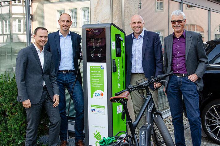 Ganz einfach Strom tanken in Emmendingen: Stadtwerke starten Ladenetz für Elektrofahrzeuge