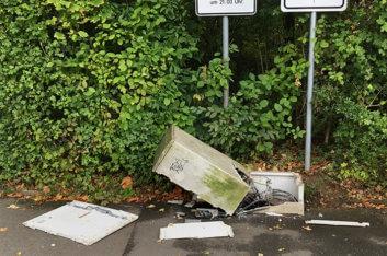 Vandalismus an Straßenlaternen kostet viel Geld