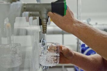 Trinkwasser: Regelmäßig überwacht und von bester Qualität
