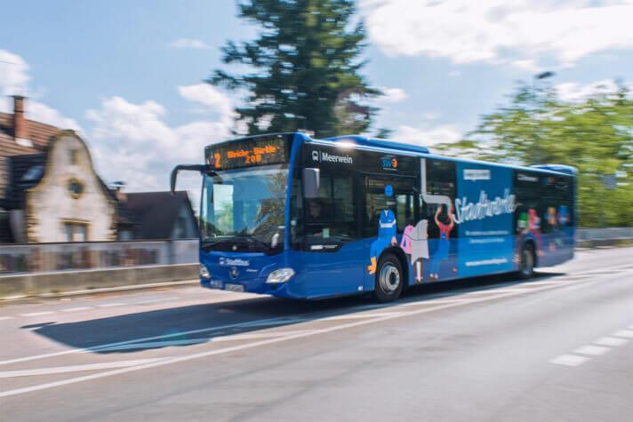 W-LAN in den Stadtbussen wird rege genutzt