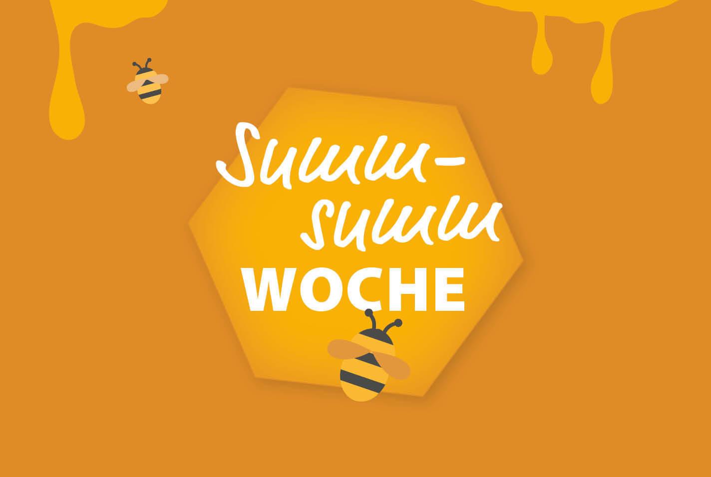 Schriftzug: Summ-Summ-Woche