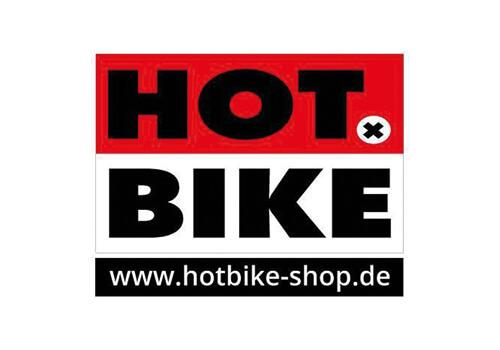 Logo des Fahrrad-Verkäufers Hot Bike.