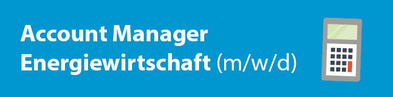 Stellenangebot: Account-Manager (m/w/d)